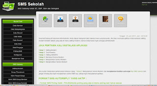Software SMS Gateway Sekolah