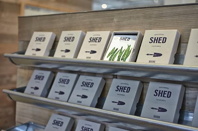 Shed in Healdsburg farming gardening section