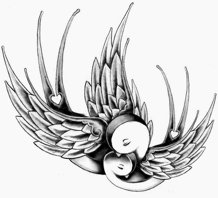 ♥ ♫ ♥ Add another baby bird and this would be perfect for my tattoo idea I have in my head.. ♥ ♫ ♥
