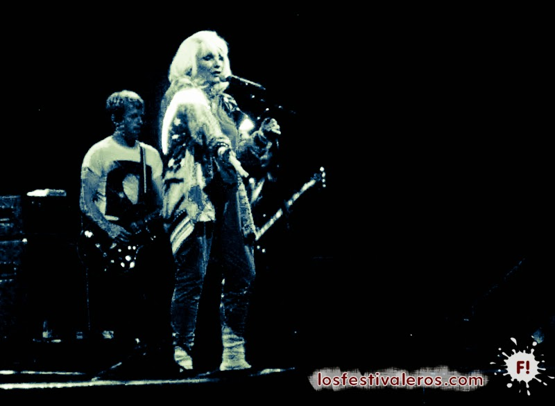 Blondie en festival BBK Live 2011
