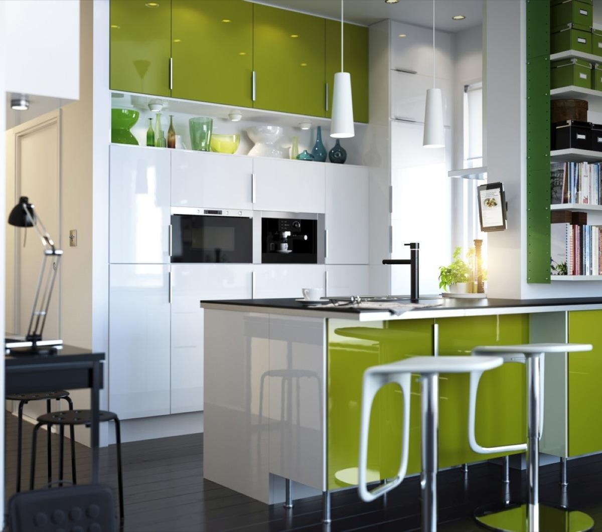Trucos para ganar espacio en una pequeña cocina - amplitud Visual ...