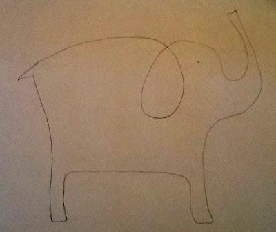 Art Intertwine - Watercolour Animals a la Picasso