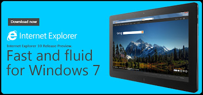 Download Internet Explorer 10 Release Preview for Windows 7