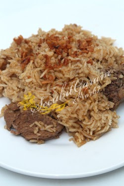 NASI DAGING & AIR ASAM