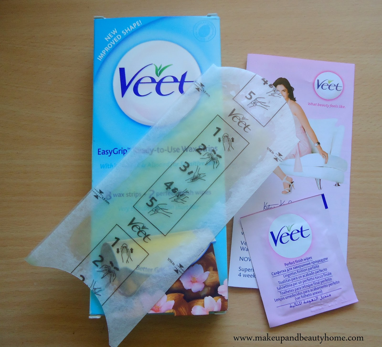 Veet Ready To Use Wax Strips For Sensitive Skin Review