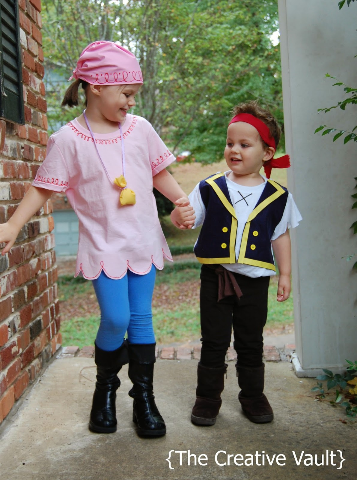 The creative vault jake izzy neverland pirates costumes diy no there was even a little crotch panel and a tag on the back i died but i digress lets get back to the costumes solutioingenieria Images