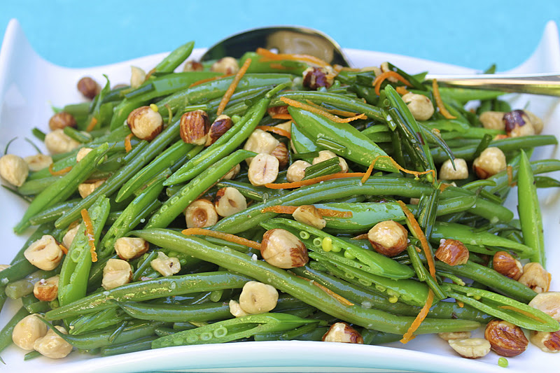 Haricot Verts and Sugar Snap Pea Salad | The Café Sucre Farine