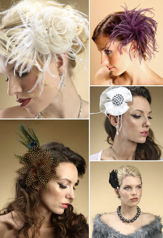 Hair fascinators and accessories