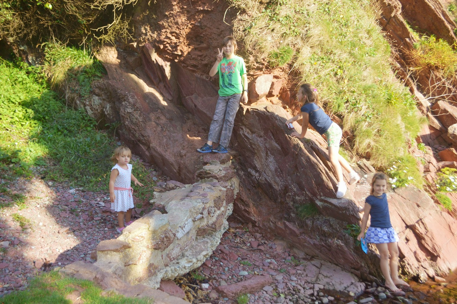 Monk Haven Pembrokeshire Wales Church Beach Rope Swing Family Fun day out