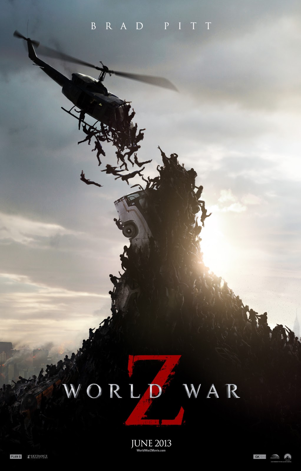 World War Z, il poster internazionale