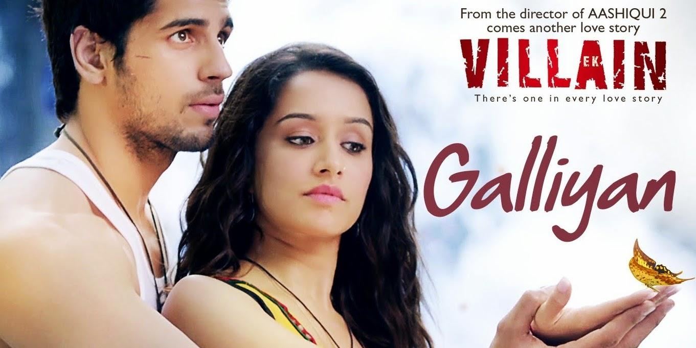 Galliyan Full Song Lyrics | Ek Villain | Ankit Tiwari | Sidharth Malhotra | Shraddha Kapoor