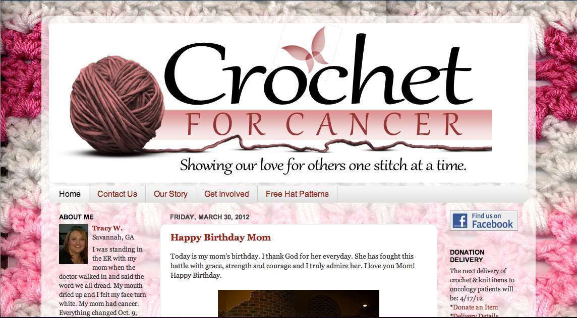 Craft Connection: Donate Your Handmade Crochet Hats for Cancer ...