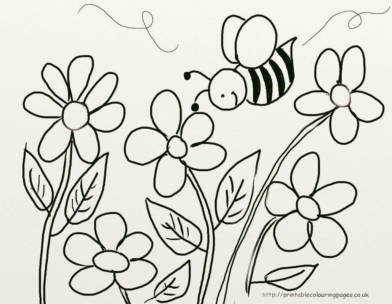 desenhos para pintar desenhos de abelhas para colorir e imprimir