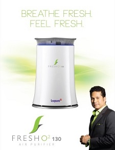 Livpure FreshO2 Portable Table Top Air Purifier from flipkart