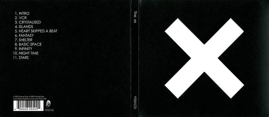 "The xx - Album ""xx"" - Player ~ The xx Fansite X Album Cover"