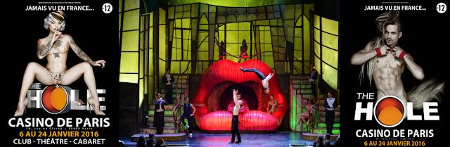 Cabaret : The Hole au Casino de Paris