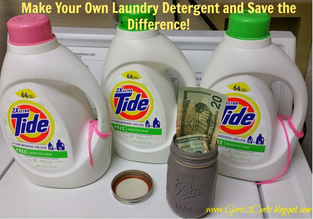 Geri 39 S 2 Cents Debt Free Living Making Your Own Laundry