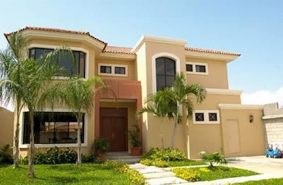 Blog da roca im veis tend ncias de cores de casa 2013 for Fachadas exteriores de casas de dos plantas