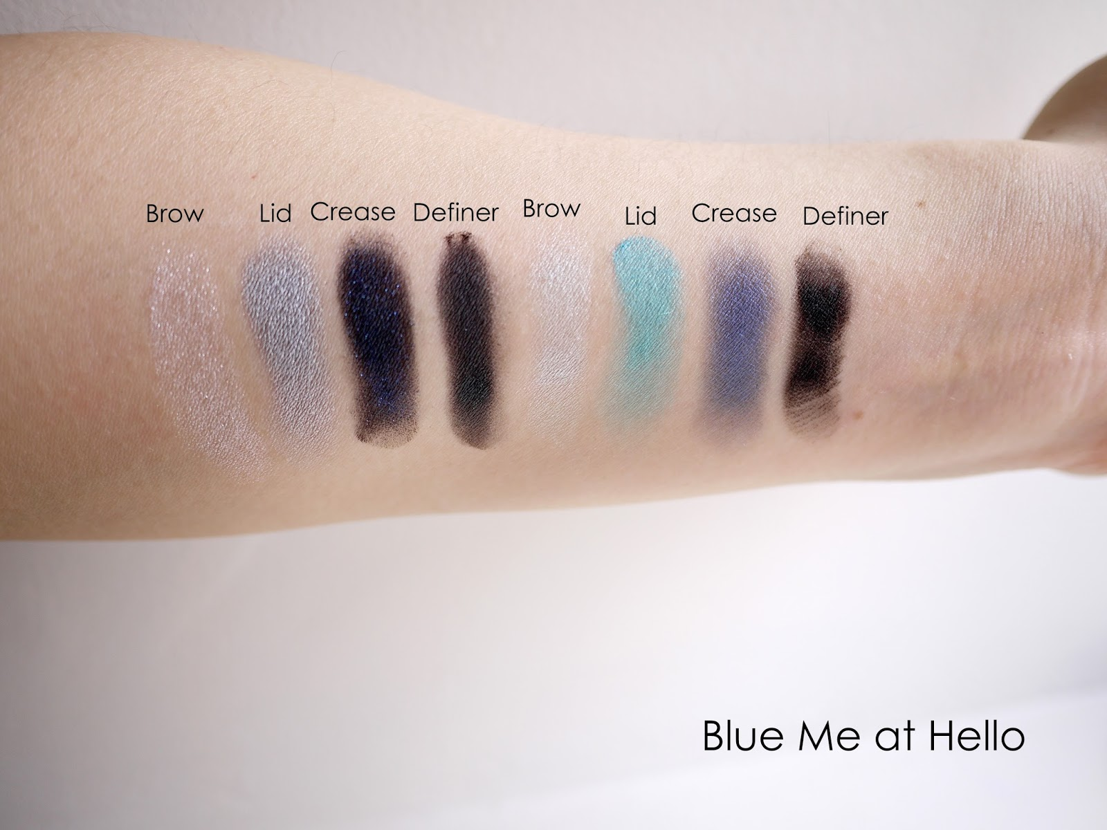 Do you need the wet n wild color icon shadow 8 palette blue me at hello swatches and review