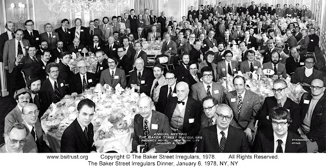 The 1978 BSI Dinner group photo