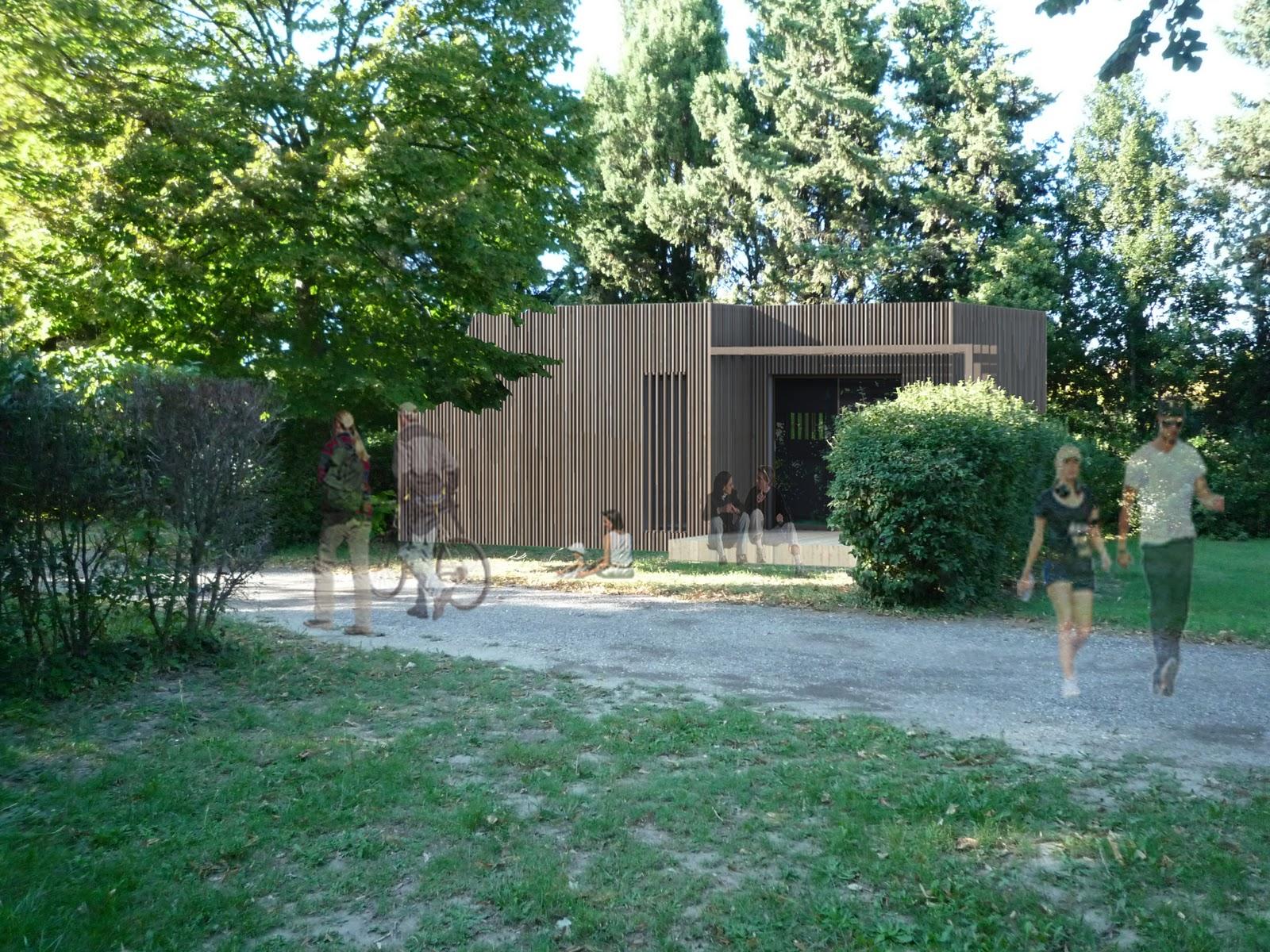 canaud architecte projet d 39 habitations l g res de loisirs hll gard. Black Bedroom Furniture Sets. Home Design Ideas