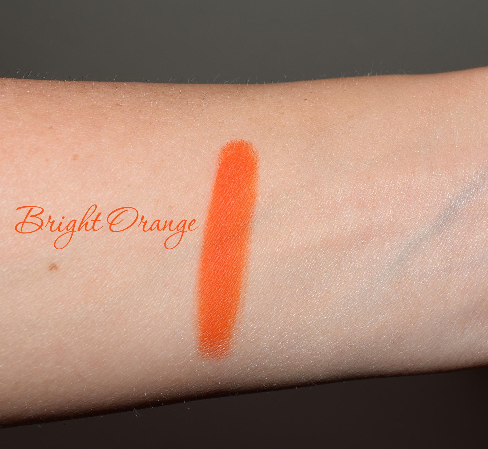 Bright Orange Swatch