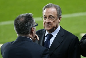 The pressure will be ratcheted up President of Real Madrid Florentino Perez.