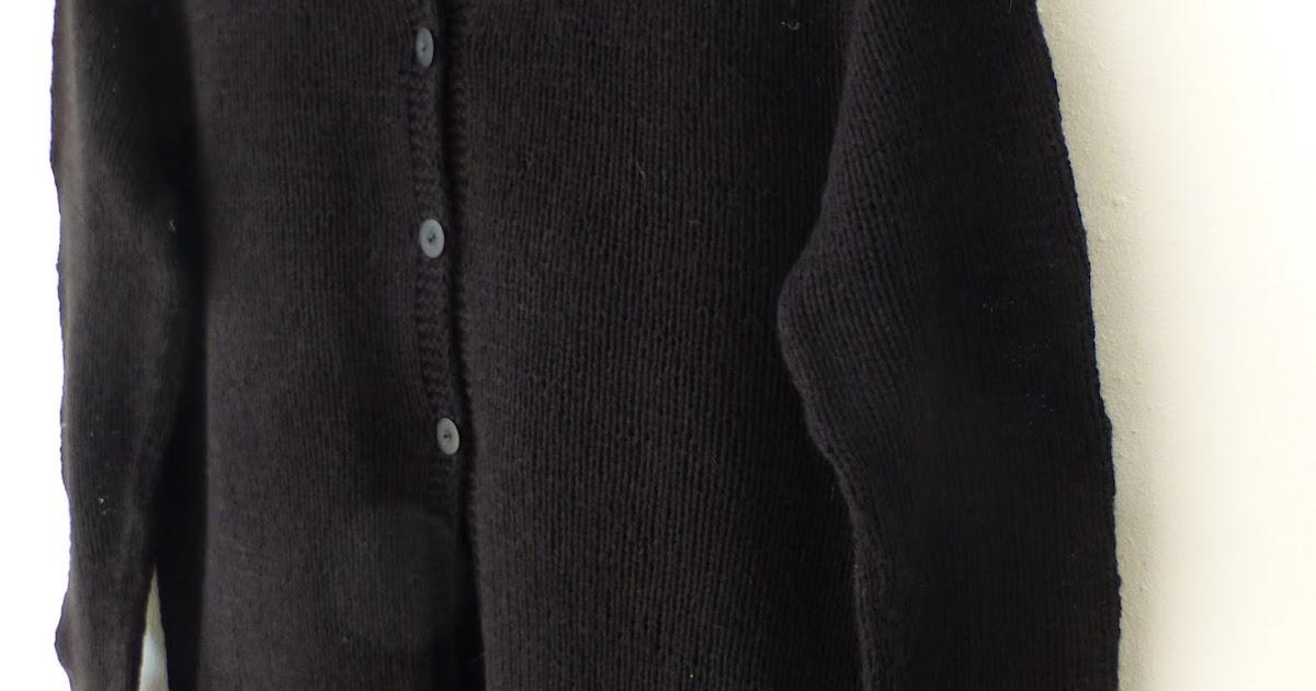 oppefra og ned sweater
