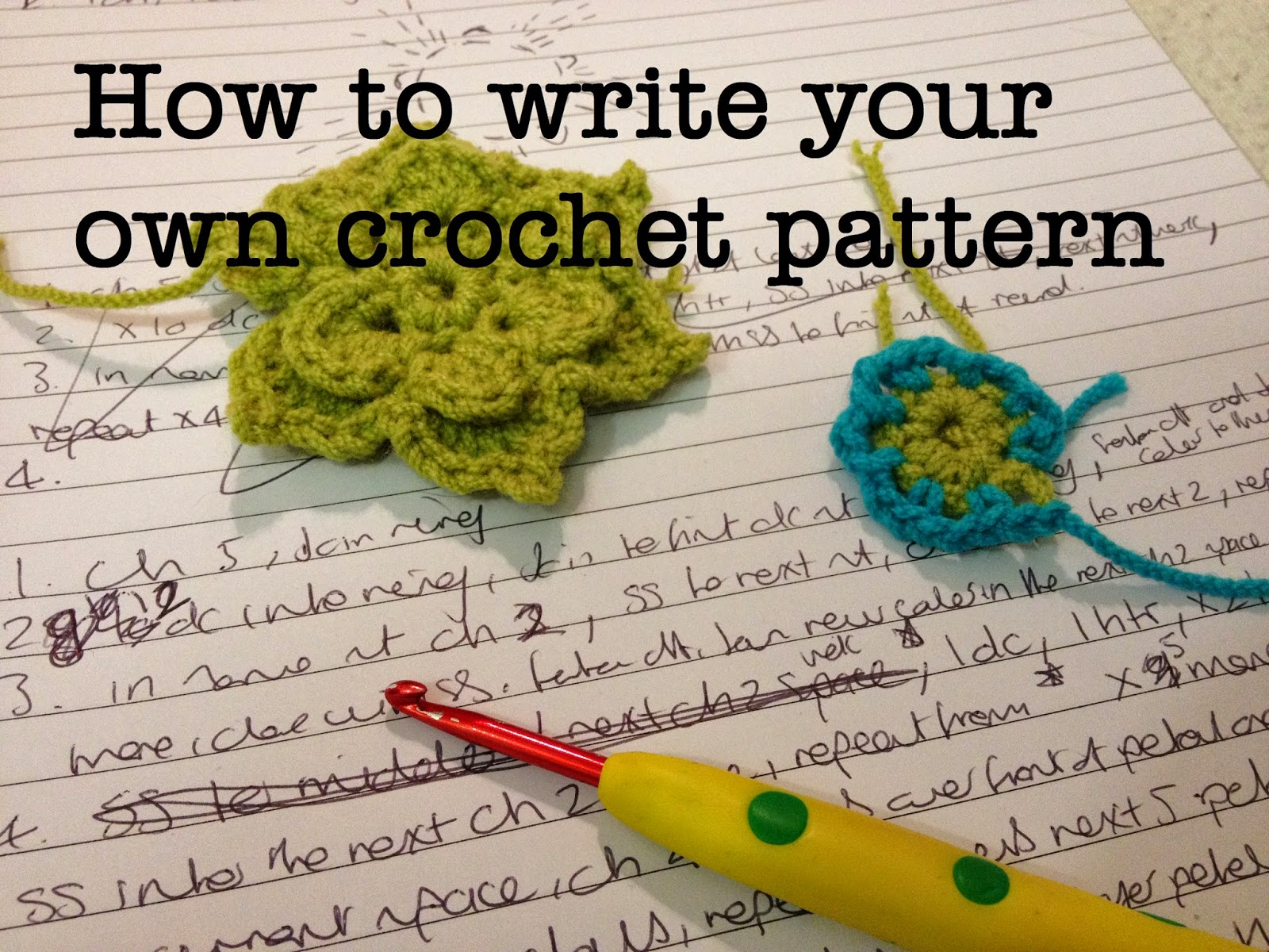 The perfect hiding place how to write your own crochet pattern how to write your own crochet pattern bankloansurffo Image collections