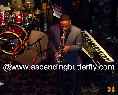 Saxophone Player Kim Waters,  performing, Angela Bofill Tribute Experience