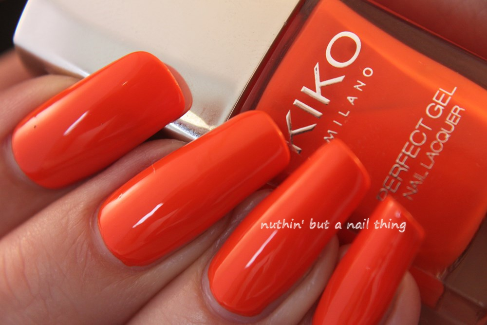 Kiko Milano Perfect Gel Duo - Orange