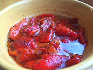 Roasted Red Peppers from Top Ate on Your Plate