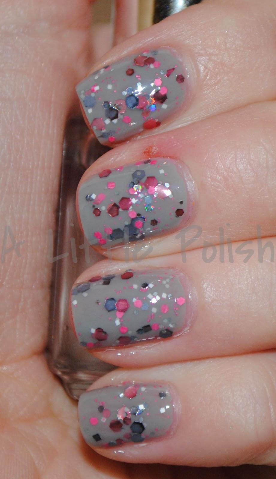 A Little Polish: KB Shimmer - Elle