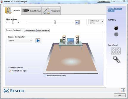 Realtek High Definition Audio Codec (Windows 7 / …