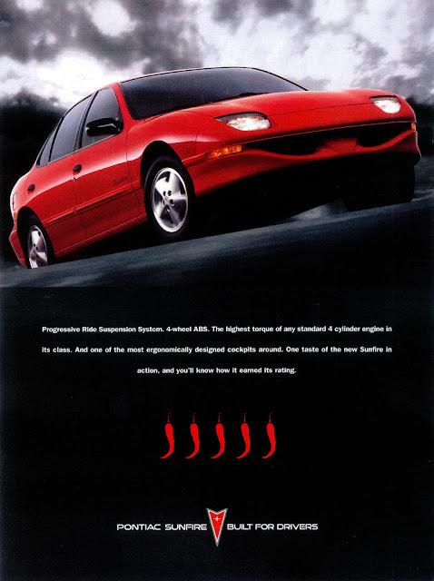 ポンティアック・サンファイア | Pontiac Sunfire (1995-2005)