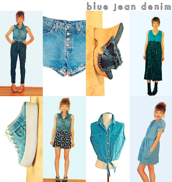 #etsy #denim #90s #grunge #idlized #DarynDree #Vintage #1990s #shop
