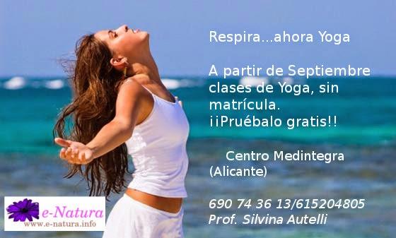 Respira...y ahora Yoga