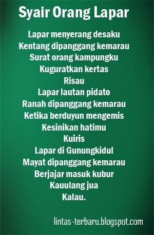 Image Result For Kumpulan Puisi Karya Chairil Anwar