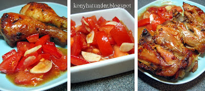 roasted-leg-of-chicken-with-tomato-salad