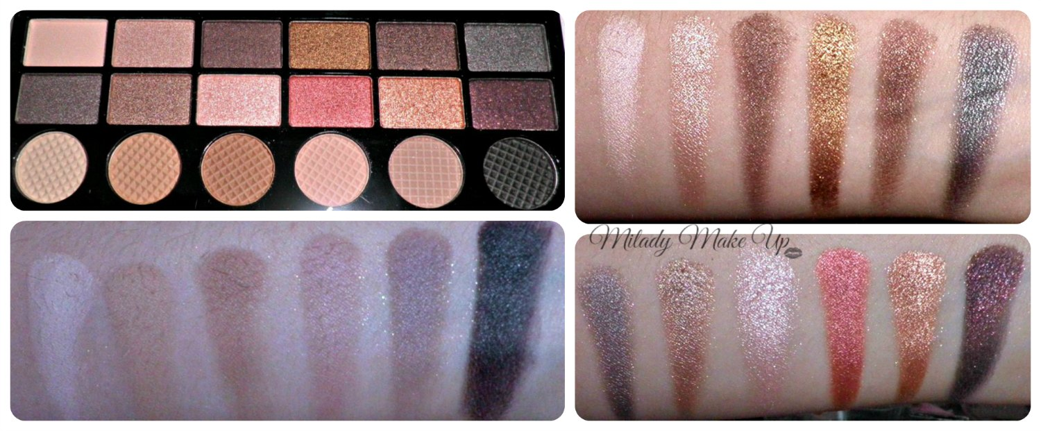 Run boy run makeup revolution swatches