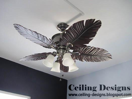 Home Interior Designs Cheap Plumage Shaped Rustic Ceiling Fans  Rhhomeinteriordesignscheapblogspot: Cheap Ceiling Fans With Lights