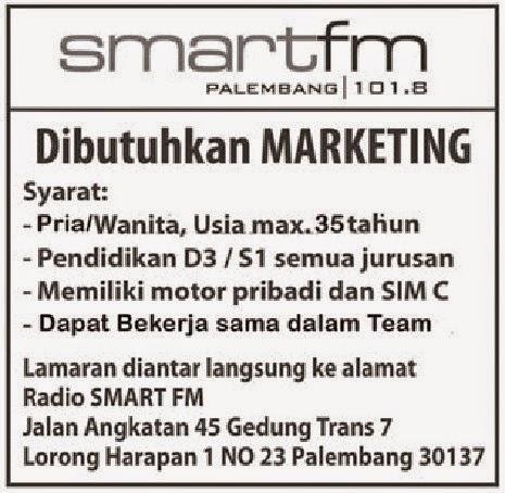 SMART FM Palembang 101.8