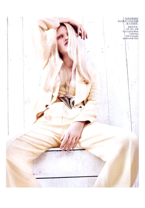 3 Daphne Groeneveld in Vogue China, February 2012!