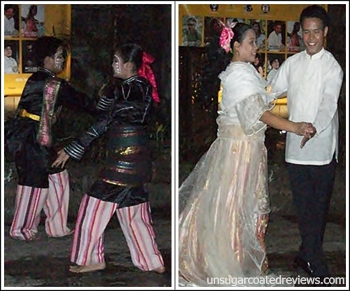 Adarna Food and Culture Restaurant dancers