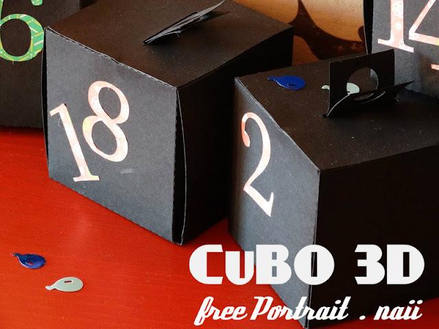 Cubo 3D Portrait