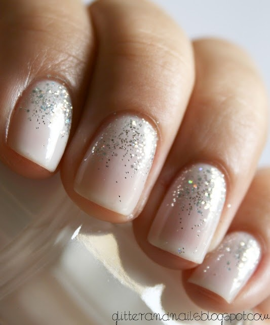 I Am The Daughter of a King: Ombre Sparkle Nails {Fall 2012 Fashion ...