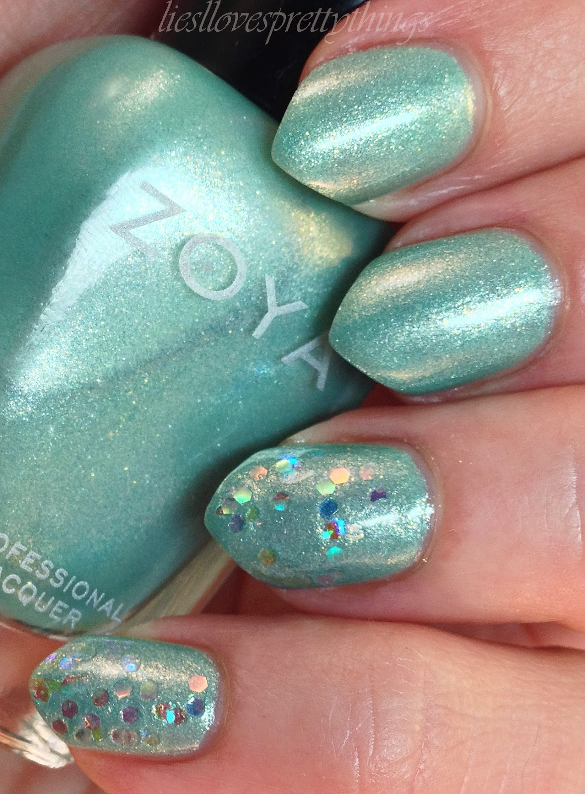 Zoya Dillon swatch and review