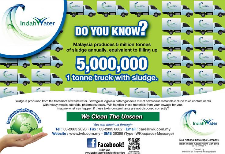 Bagaimana dengan membayar bil Indah Water mampu membuatkan persekitaran kita menjadi lebih baik?