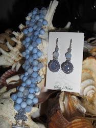 Blue Mist Agates