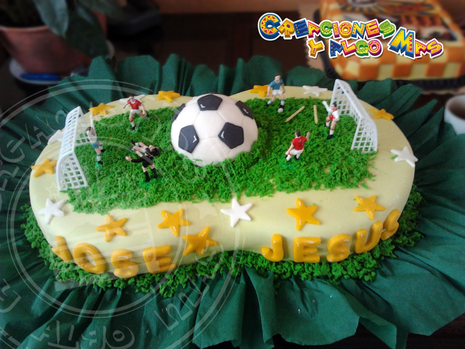 Creaciones y Algo Mas: FIESTA MOTIVO FUTBOL - FOOTBALL PARTY